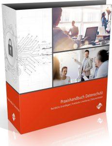 "Coverbild ""Praxishandbuch Datenschutz"""