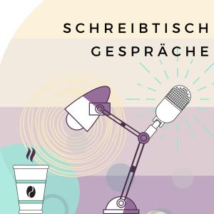 """Blog & Podcast Cover """"Schreibtischgespräche"""""""