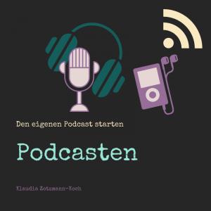 """Coverbild des Onlinekurses """"Podcasten für Autor*innen und Kreative"""""""